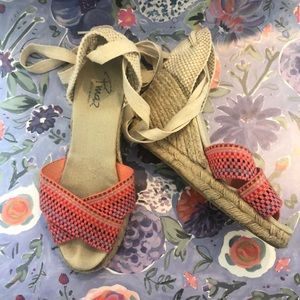 Anthro Colorful Espadrilles